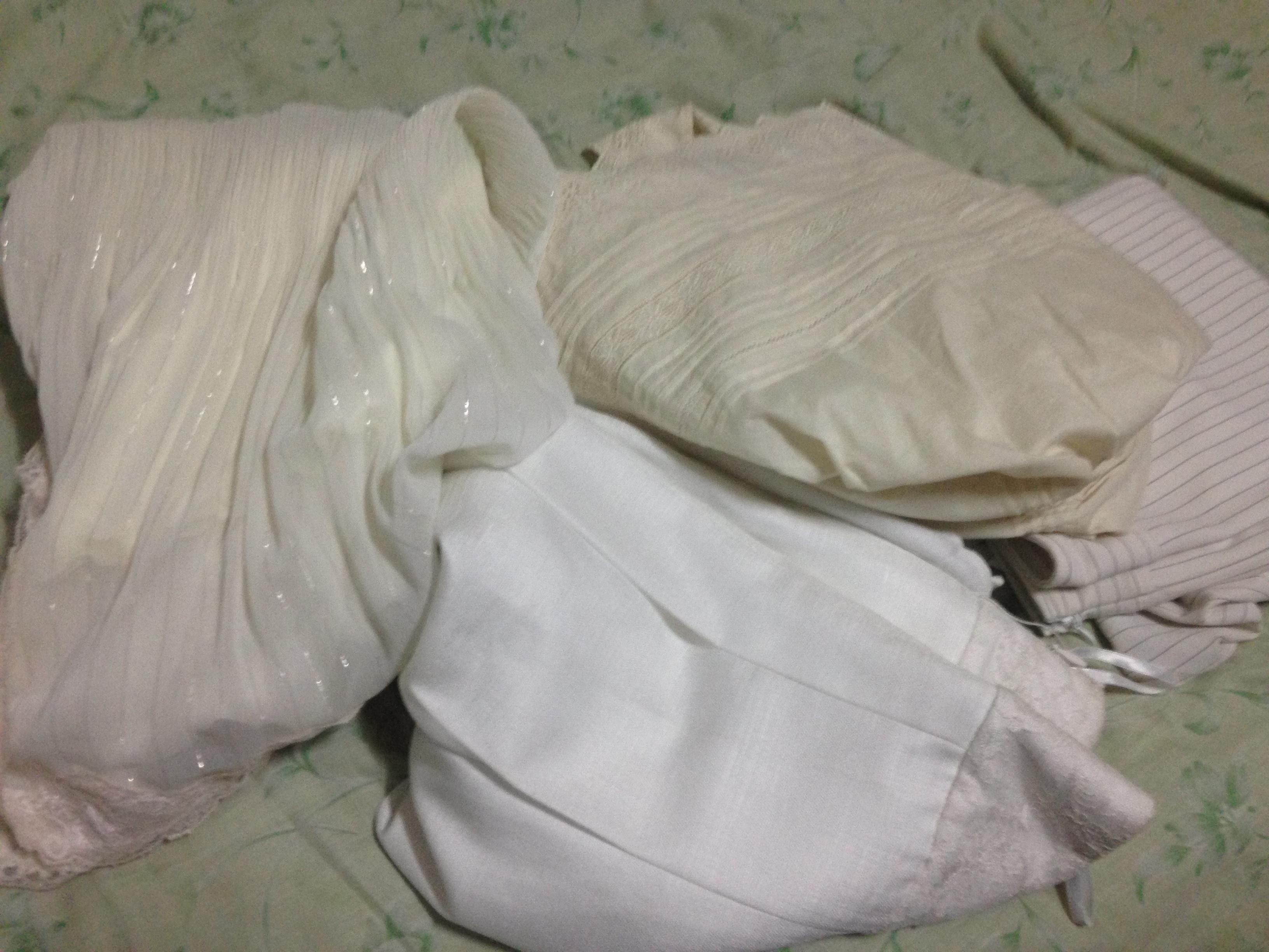 予想外の白スカート祭り!!@摂理の味